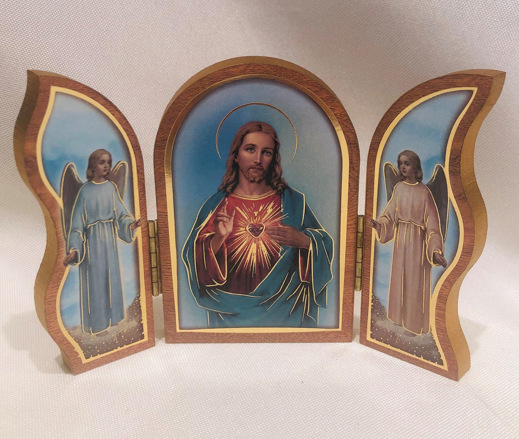 Sacred Heart Triptych