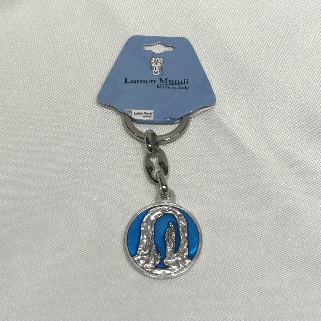 NS Grotto Lourdes Key Chain
