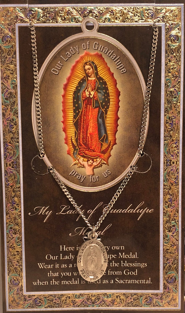 My Our Lady of Guadalupe Medal