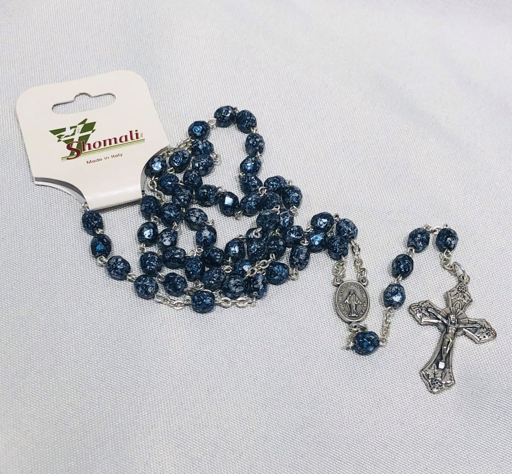 Blue/Black Rosary