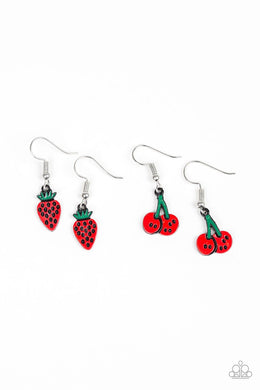 Paparazzi Starlet Shimmer Fruit Earring - Bling It On Online