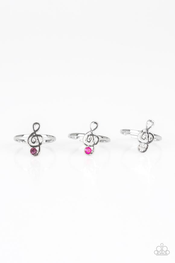 Paparazzi Starlet Shimmer Music Note Ring - Bling It On Online