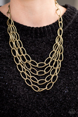 Paparazzi Chain Reaction - Brass