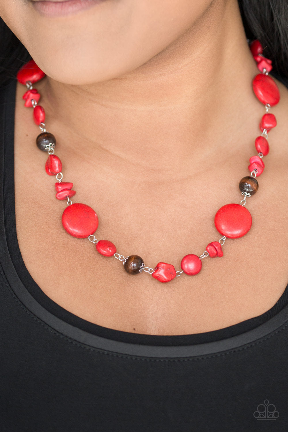 Paparazzi Canyon Collection - Red - Bling It On Online