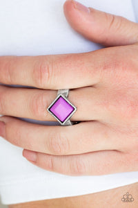 Paparazzi Stylishly Fair and Square - Purple - Bling It On Online