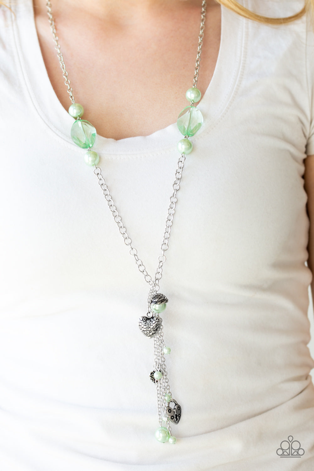 Paparazzi Heart-Stopping Harmony - Green - Bling It On Online