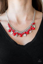 Load image into Gallery viewer, Paparazzi Summer Showdown - Red - Bling It On Online