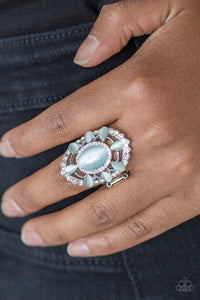 Paparazzi Over The MOONFLOWER - Blue - Bling It On Online