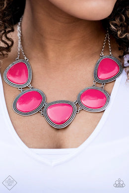 Paparazzi Accessories Viva La VIVID - Pink - Bling It On Online