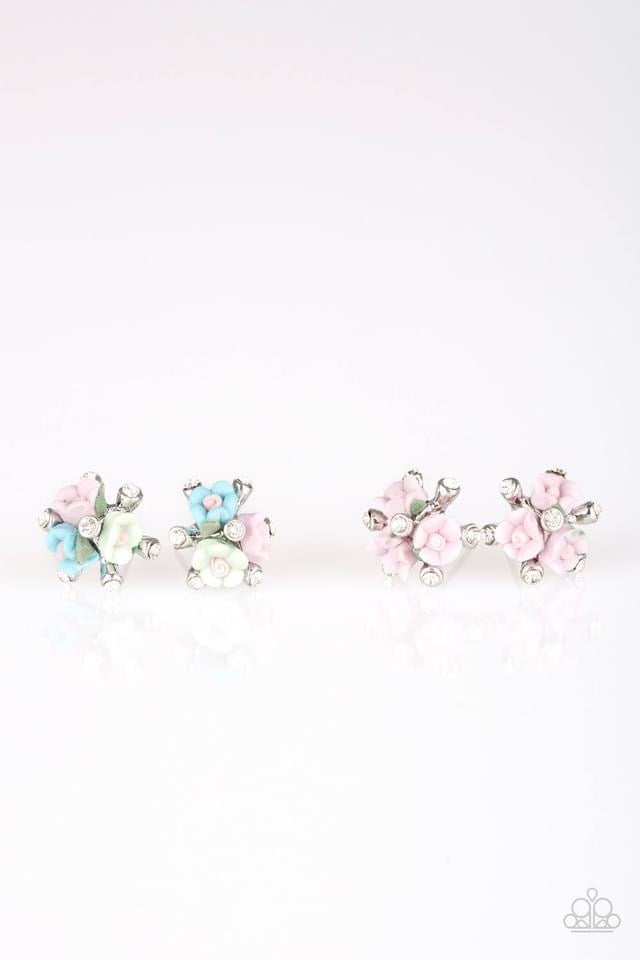 Paparazzi Starlet Shimmer Bouquet Earring - Bling It On Online