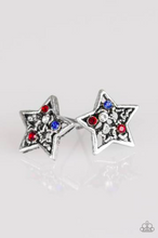 Load image into Gallery viewer, Paparazzi Starlet Shimmer Rhinestone Star Earring