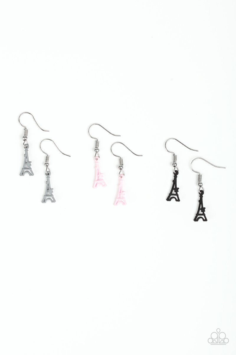 Paparazzi Starlet Shimmer Eiffel Tower Earring - Bling It On Online