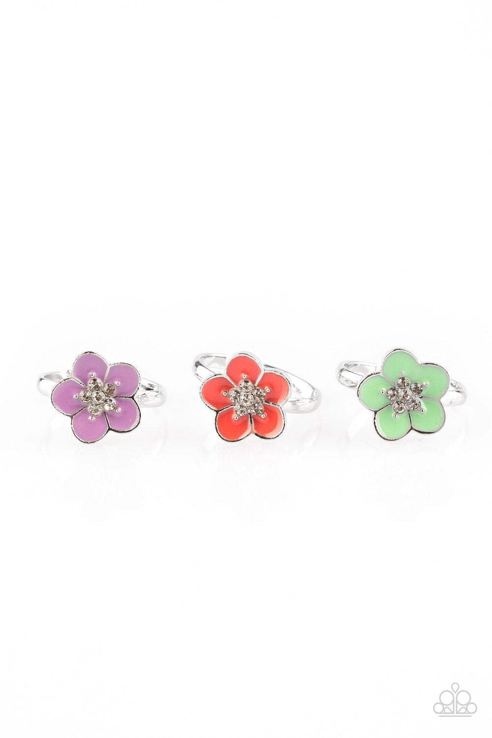 Paparazzi Starlet Shimmer Colorful Flower Ring