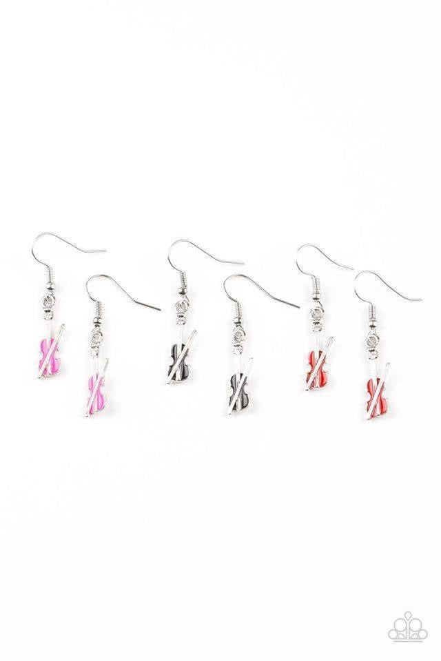 Paparazzi Starlet Shimmer Violin Earrings