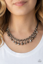 Load image into Gallery viewer, Paparazzi And The Crowd Cheers - Gunmetal - Bling It On Online