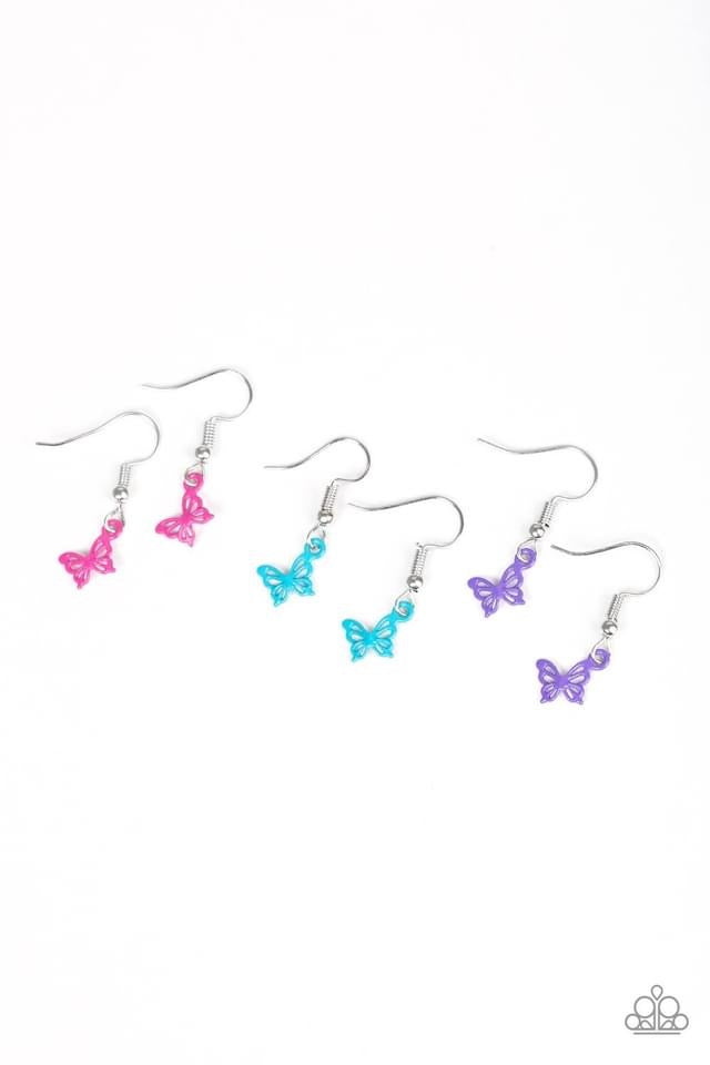 Paparazzi Starlet Shimmer Airy Butterfly Earring - Bling It On Online