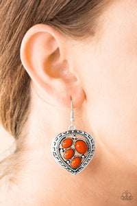 Paparazzi Wild Heart Wonder - Orange - Bling It On Online