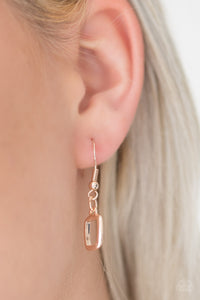 Paparazzi Gorgeously Geometric - Rose Gold - Bling It On Online