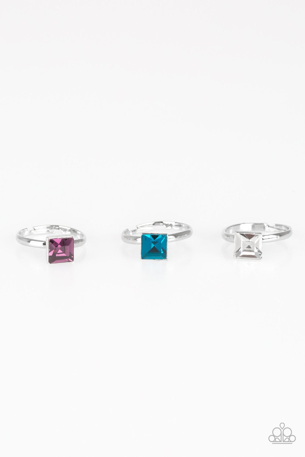 Paparazzi Starlet Shimmer Square Gem Ring - Bling It On Online