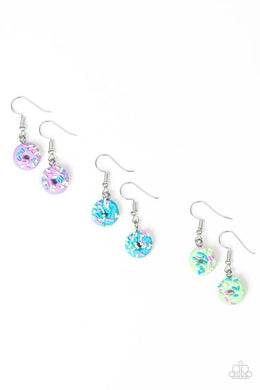 Paparazzi Starlet Shimmer Donut Earring - Bling It On Online