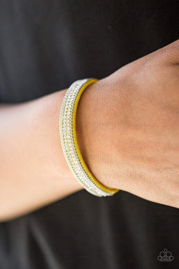 Paparazzi Babe Bling - Yellow Bracelet - Bling It On Online