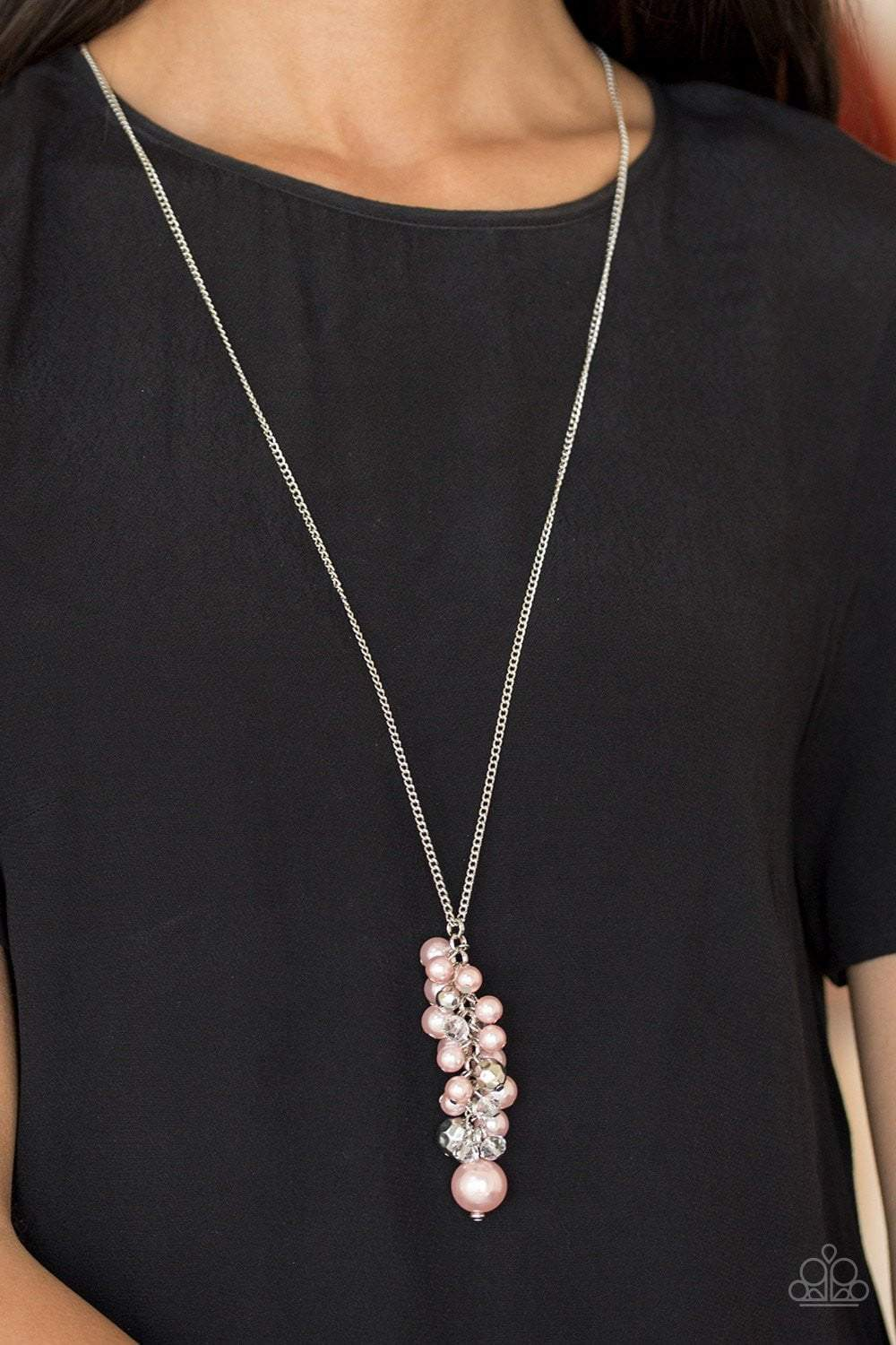 Paparazzi Ballroom Belle - Pink Necklace - Bling It On Online