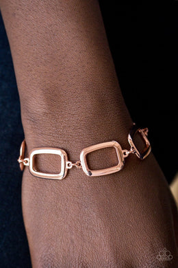 Paparazzi Basic Geometry - Copper - Bling It On Online