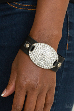 Paparazzi Better Recognize - Black Urban Bracelet - Bling It On Online