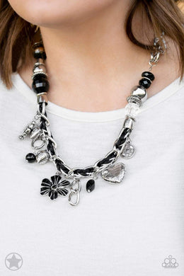 Paparazzi Blockbuster Charmed, I Am Sure - Black - Bling It On Online