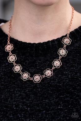 Paparazzi BLOOM Or Bust - Copper - Bling It On Online