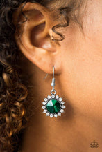 Load image into Gallery viewer, Paparazzi Bring In The BEAM Team - Green Earrings - Bling It On Online