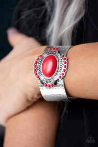 Paparazzi Canyon Crafted - Red- Bling It On Online