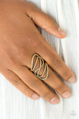 Paparazzi Chasing Starlight - Brass Ring - Bling It On Online