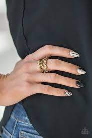 Paparazzi Cosmo Collection - Brass Ring - Bling It On Online