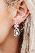 Load image into Gallery viewer, Paparazzi Exquisite Expense - Silver Earrings - Bling It On Online