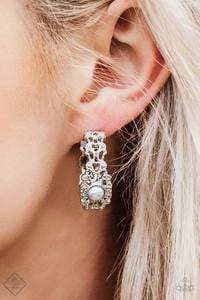 Paparazzi Exquisite Expense - Silver Earrings - Bling It On Online