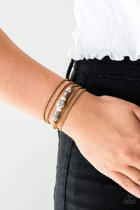 Paparazzi Find Your Way - White Bracelet - Bling It On Online