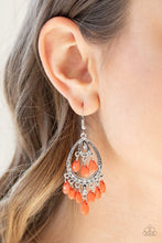 Load image into Gallery viewer, Paparazzi Gorgeously Genie - Orange Earrings - Bling It On Online
