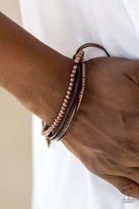 Paparazzi Gypsy Magic - Copper - Bracelet - Bling It On Online