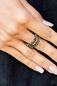 Paparazzi Heavy Metal Muse - Brass Ring - Bling It On Online