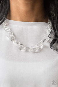 Paparazzi Ice Queen - White Necklace - Bling It On Online