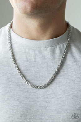 Paparazzi Instant Replay - Silver Necklace - Bling It On Online