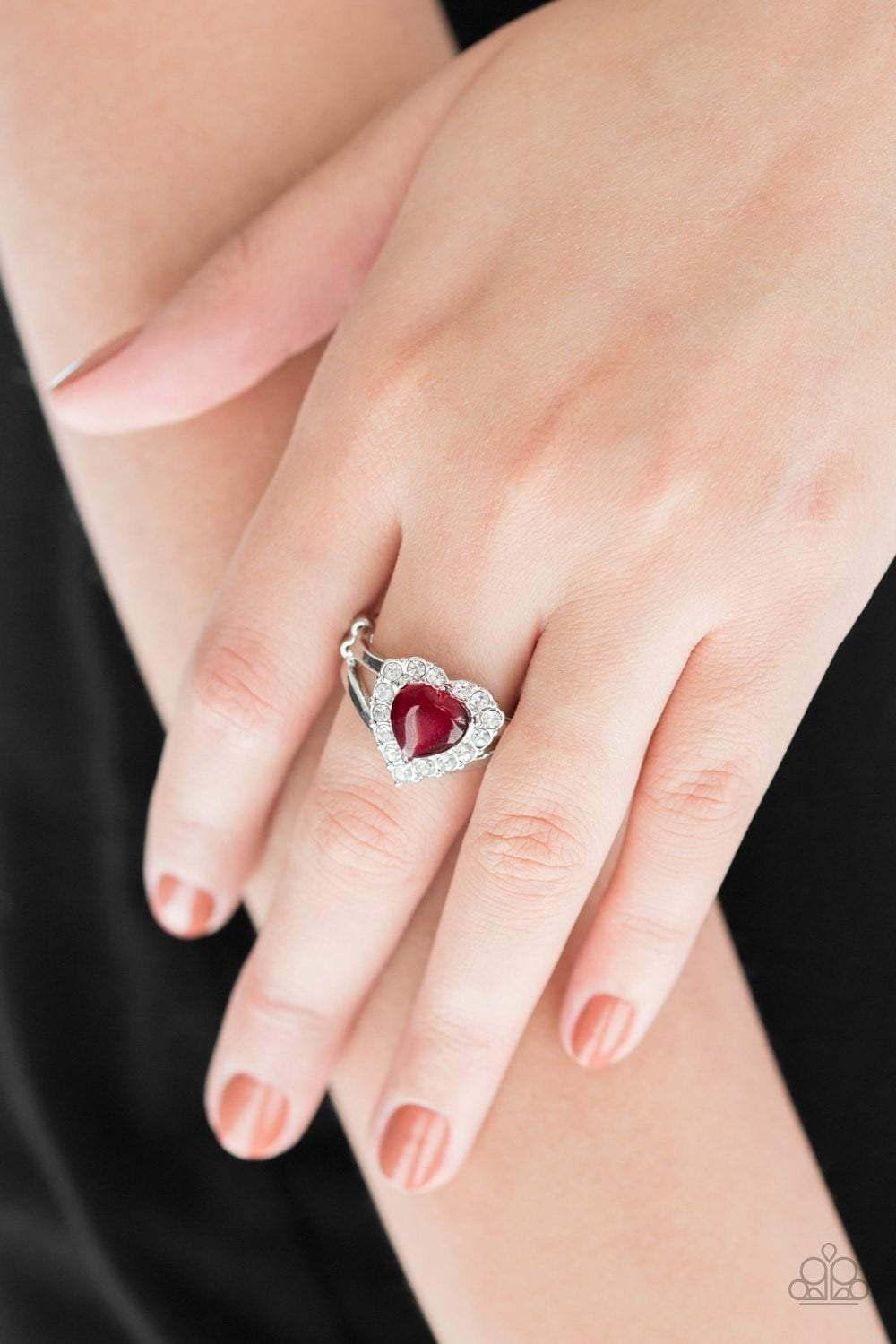 Paparazzi Love Is In The Air - Red Ring - Bling It On Online