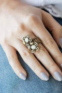 Paparazzi Magnolia Mansions - Brass Ring - Bling It On Online