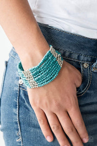 Paparazzi Outback Odyssey - Turquoise - Bling It On Online