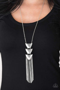 Paparazzi Paradise Prowess - Silver Necklace - Bling It On Online