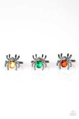 Paparazzi Starlet Shimmer Halloween Spider Ring - Bling It On Online
