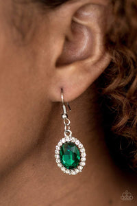 Paparazzi The FAME Of The Game - Green Earrings - Bling It On Online