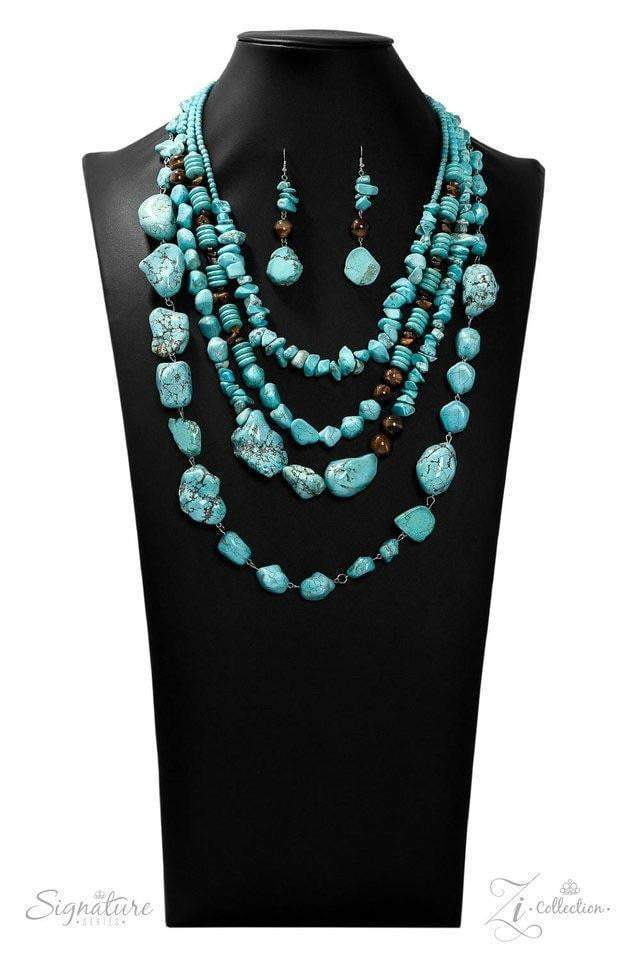 Paparazzi The Monica Necklace - 2019 Signature Collection - Bling It On Online