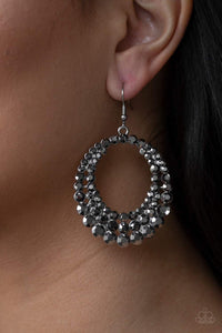 Paparazzi Universal Shimmer - Silver Earrings - Bling It On Online